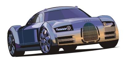 Машины: AUDI prototype(Векторная графика и иллюстрация)
