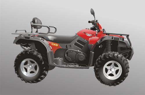 Машины: квадроцикл АВМ-500(Векторная графика и иллюстрация)