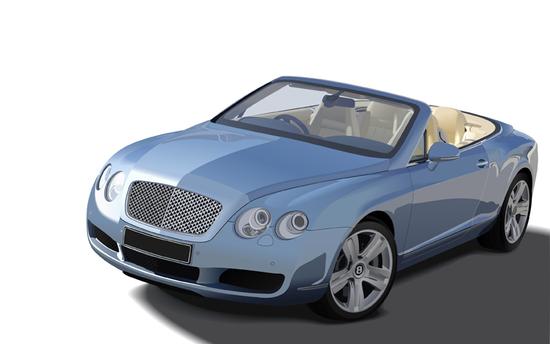 Машины: Continental(Векторная графика и иллюстрация)