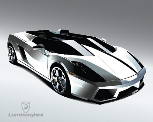 Машины: Lamba mmm... very nice car(Векторная графика и иллюстрация)