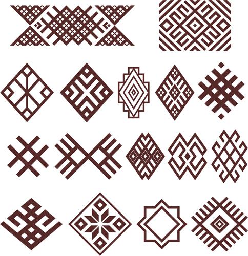 Узоры: Башкирский орнамент(Векторная графика и иллюстрация)