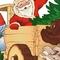 Дед Мороз на авто